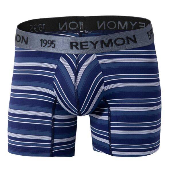 Boxer-semilargo-Microfibra-Ref.3013-rayas-azul-oscuro